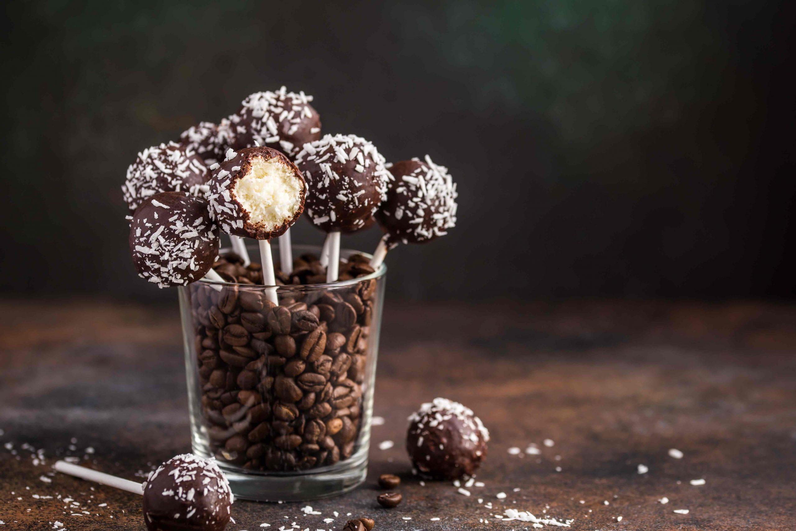 Low Carb Schoko Kokos Cake Pops – 20k Rezepte